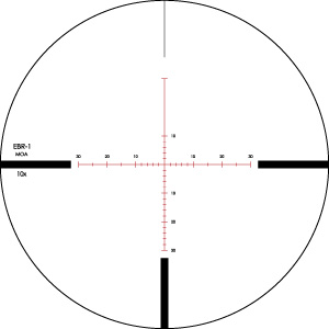 Viper PST 2.5-10x44 EBR-1 (MOA) Reticle